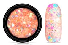 Jolifin LAVENI Pastell Glittermix - apricot