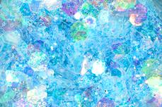 Jolifin LAVENI Pastell Glittermix - blue
