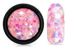 Jolifin LAVENI Pastell Glittermix - peach