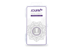 Jolifin 100er Tipbox short cut ballerina - clear