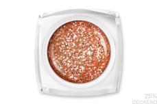 Jolifin LAVENI Farbgel - peach ice cream Glitter 5ml