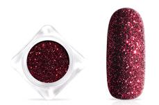 Jolifin Glitterpuder - black cherry