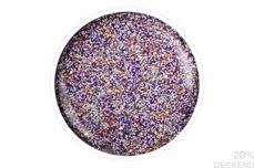 Jolifin LAVENI Shellac - Matt-Effekt lilac Glitter 12ml