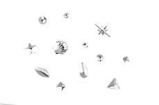 Jolifin Einleger-Display - micro silver