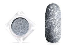 Jolifin Glitterpuder - silver star