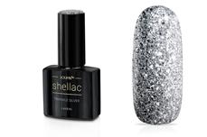 Jolifin LAVENI Shellac - twinkle silver 12ml