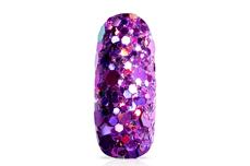 Jolifin Hexagon Glittermix - hologramm purple