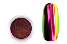 Jolifin Super Mirror-Chrome Pigment - FlipFlop pink & green