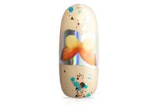 Jolifin Transfer-Nagelfolien Box - Hologramm Schmetterlinge