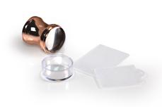 Jolifin XL Jelly Stempel - chrome rosé-gold - soft