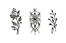 Jolifin Black Elegance Tattoo Nr. 62