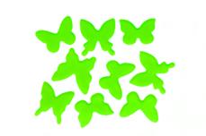 Jolifin Schmetterling Sticker - neon-green