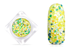 Jolifin Candy Glitter - ananas yellow