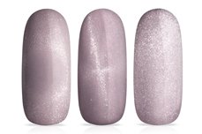 Jolifin LAVENI Shellac - Cat-Eye nude-lavender 12ml