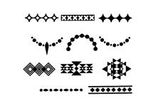 Jolifin Stamping-Schablone Nr. 3
