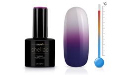 Jolifin LAVENI Shellac - Thermo purple-lilac 12ml