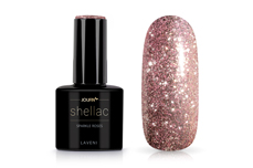 Jolifin LAVENI Shellac - sparkle roses 12ml