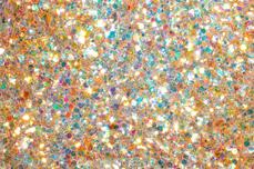 Jolifin Aurora Flakes Glittermix - peach