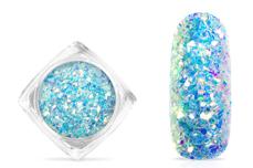 Jolifin Aurora Flakes Glittermix - aqua
