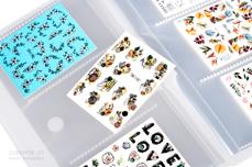 Jolifin Aufbewahrung für 240 Sticker & Tattoos