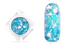 Jolifin Nightshine Butterfly Glitter - icy white