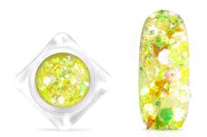 Jolifin Nightshine Butterfly Glitter - yellow