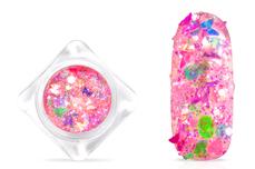 Jolifin Nightshine Butterfly Glitter - pink