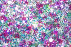 Jolifin Nightshine Butterfly Glitter - purple