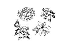 Jolifin Black Elegance Tattoo Nr. 67