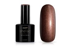 Jolifin LAVENI Shellac - metallic brown 12ml