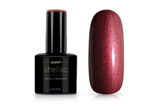 Jolifin LAVENI Shellac - metallic bordeaux 12ml