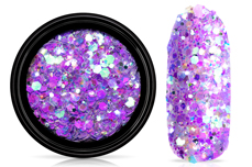 Jolifin LAVENI Festival Glitter - violet blossom