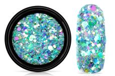 Jolifin LAVENI Festival Glitter - icy mint