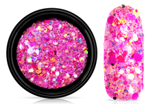 Jolifin LAVENI Festival Glitter - candy pink