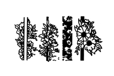 Jolifin Stamping-Schablone Nr. 10