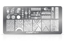 Jolifin Stamping-Schablone Nr. 17