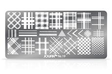 Jolifin Stamping-Schablone Nr. 19