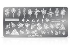 Jolifin Stamping-Schablone Nr. 20