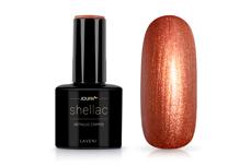 Jolifin LAVENI Shellac - metallic copper 12ml