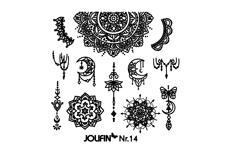 Jolifin Stamping-Schablone Nr. 14