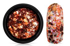 Jolifin LAVENI Glossy Mirror Glitter - copper
