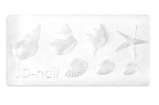 Jolifin 3D-Form beach shells