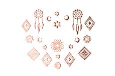 Jolifin LAVENI XL Sticker - rosé-gold Nr. 2