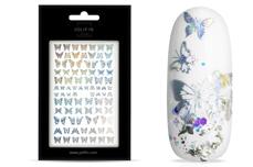 Jolifin LAVENI XL Sticker Hologramm - Butterfly Nr. 3