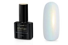 Jolifin LAVENI Shellac - white mermaid pearl 12ml