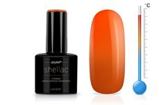 Jolifin LAVENI Shellac - Thermo neon-orange mandarin 12ml