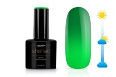 Jolifin LAVENI Shellac - Solar neon-green 12ml