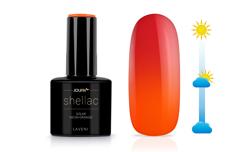 Jolifin LAVENI Shellac - Solar neon-orange 12ml
