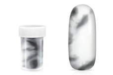 Jolifin Transfer Nagelfolie XL - Marmor schwarz