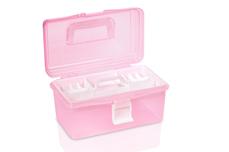 Jolifin Aufbewahrungsbox to go - pink small